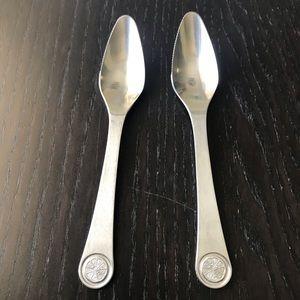 Dreizack Germany Set/2 Stainless Grapefruit Spoons